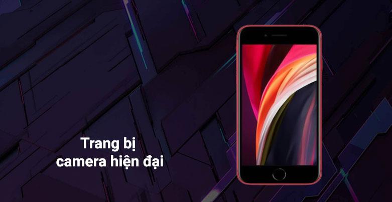 Điện Thoại Di Động iPhone SE RED 64GB (MHGR3VN/A) | trang bị camera hiện đại