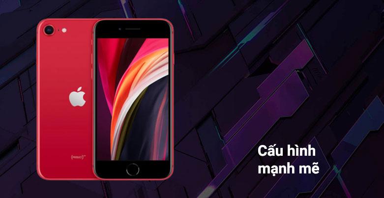Điện Thoại Di Động iPhone SE RED 64GB (MHGR3VN/A) | Cấu hình mạnh mẽ