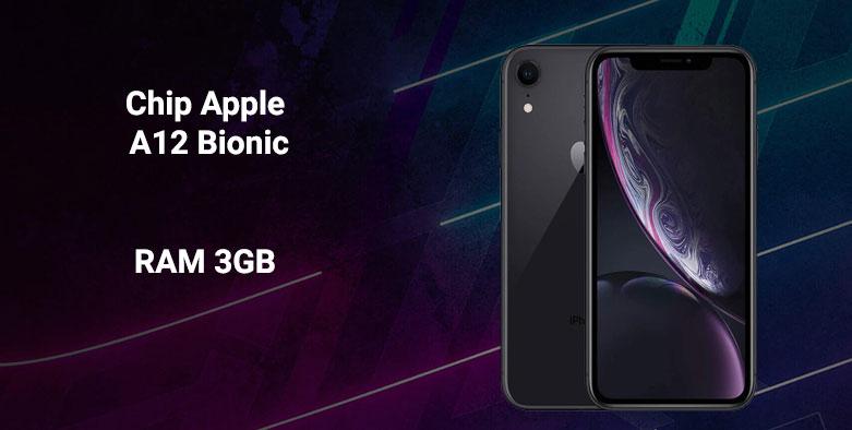 Điện thoại di động iPhone XR BLACK 64GB MH6M3VN/A | Hiệu năng mạnh mẽ