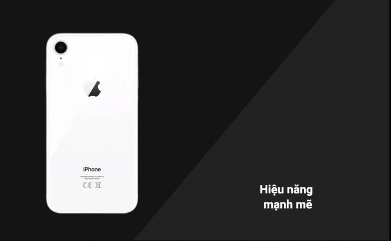 Điện Thoại Di Động iPhone XR WHITE 64GB MH6N3VN/A   Hiệu năng mạnh mẽ