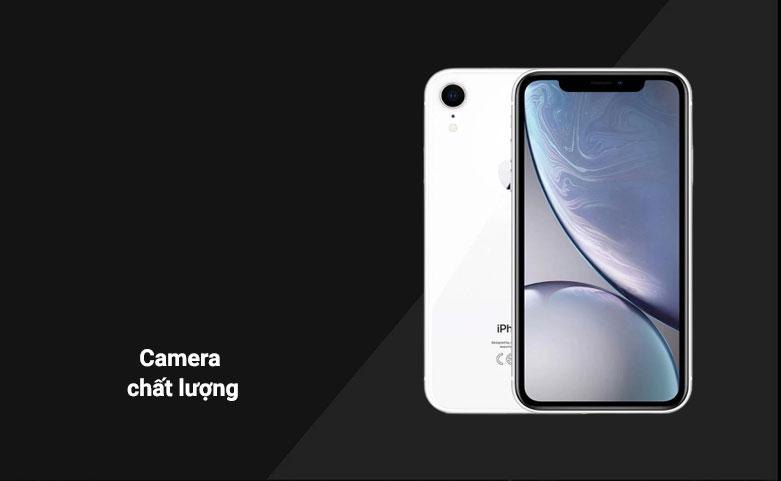 Điện Thoại Di Động iPhone XR WHITE 64GB MH6N3VN/A   Camera chất lượng