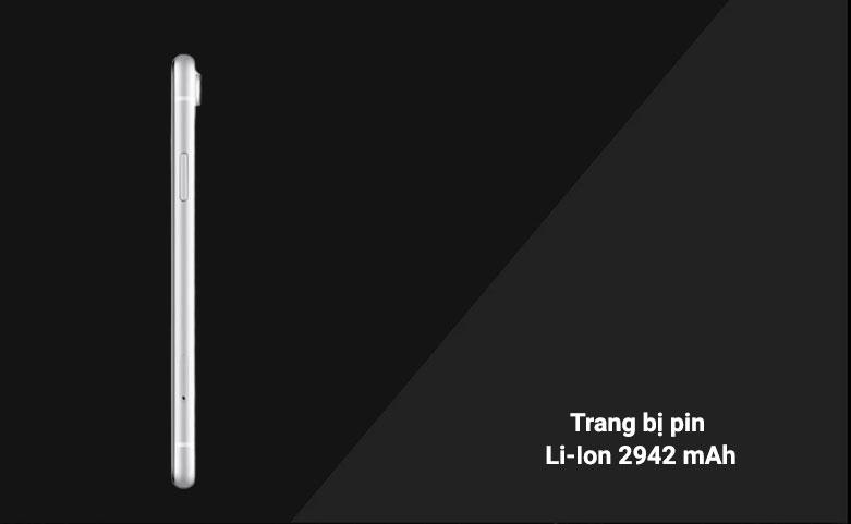 Điện Thoại Di Động iPhone XR WHITE 64GB MH6N3VN/A   trang bị pin Li-Ion 2942 mAh