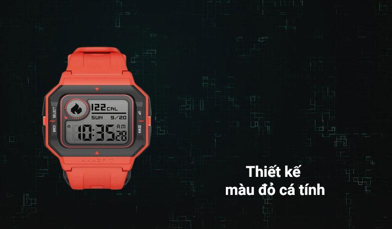 Đồng hồ thông minh Amazfit NEO (Đỏ) | Thiết kế cá tính