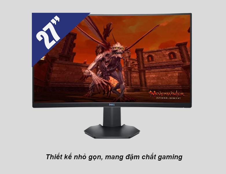 Màn hình cong Dell 27'' S2721HGF   Thiết kế nhỏ gọn