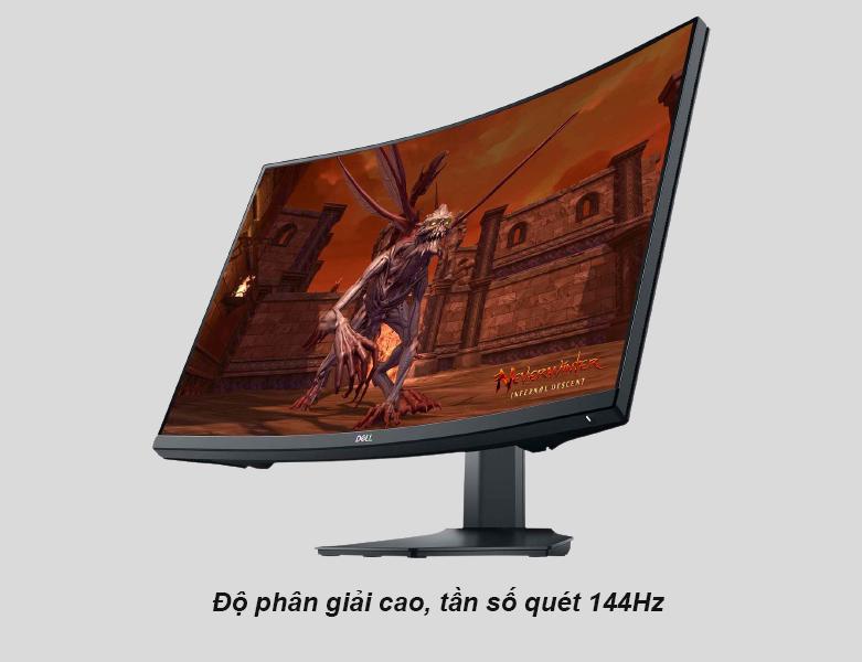 Màn hình cong Dell 27'' S2721HGF   Độ phân giải cao
