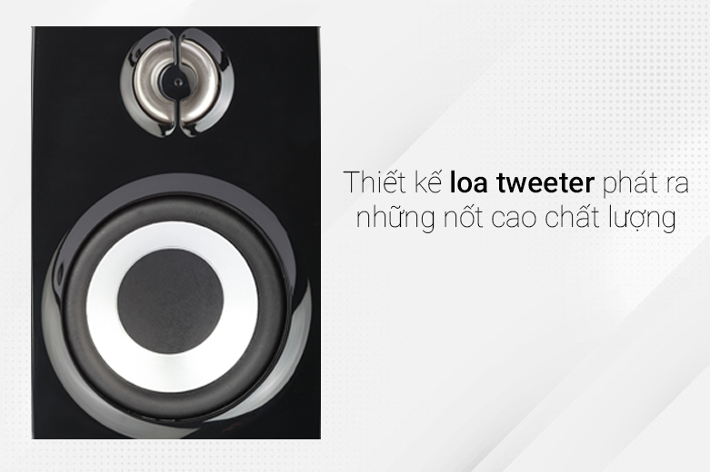 Loa Bluetooth Creative T15 Wireless 2.0 | Thiết kế loa tweeter chuyên nghiệp