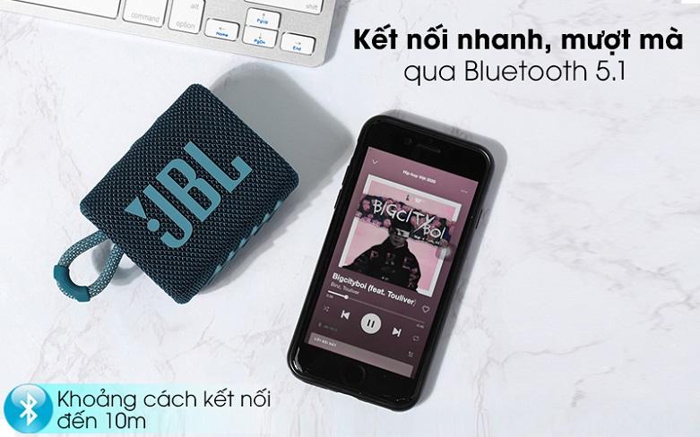 JBL GO 3 (Blue) | Loa Bluetooth JBL GO 3