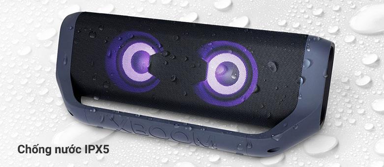 Loa Bluetooth LG PN7 (Xanh Đen) | Chống nước IPX5