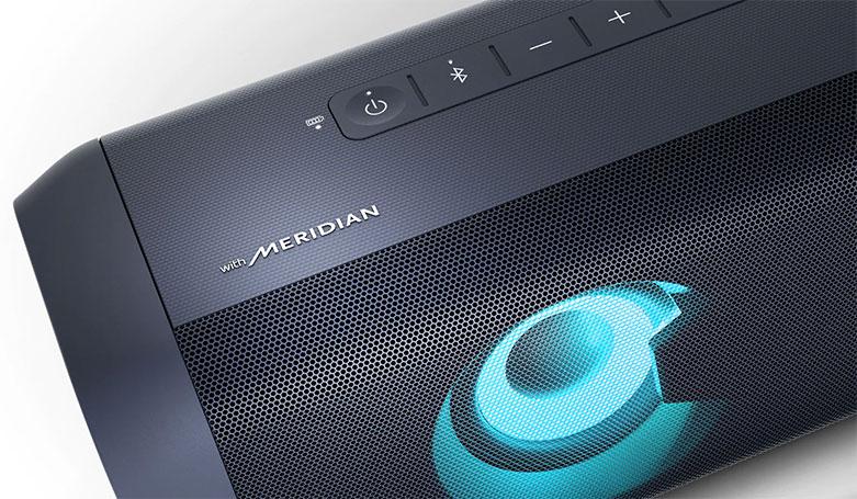 Loa Bluetooth LG PN7 (Xanh Đen) | Chất lượng âm thanh ấn tượng