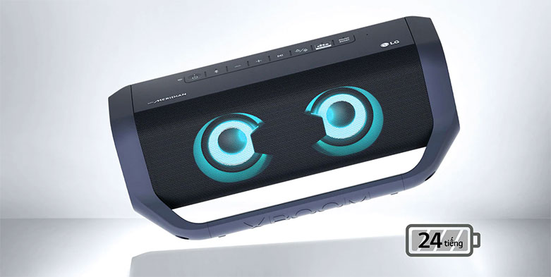 Loa Bluetooth LG PN7 (Xanh Đen) | Thời lượng pin dài