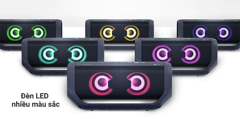 Loa Bluetooth LG PN7 (Xanh Đen) | Kiểu dáng hiện đại