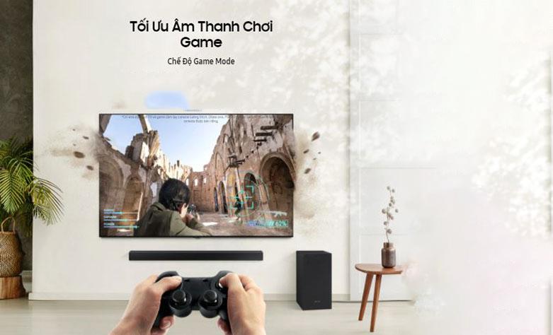 Loa thanh Samsung HW-T420 | Tối ưu âm thanh chơi game