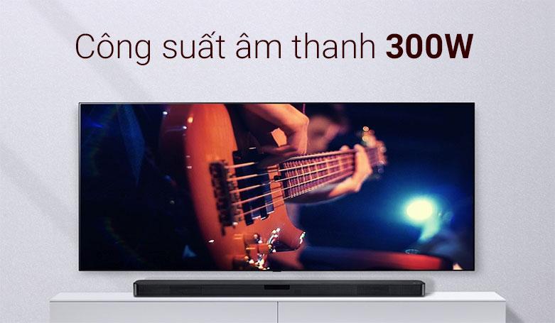 Loa Soundbar LG SL4   Công suất âm thanh 300W