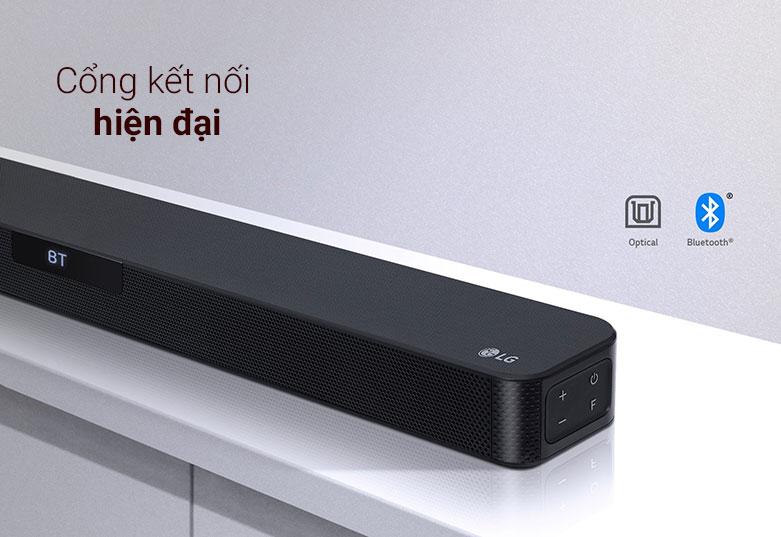 Loa Soundbar LG SL4   Cổng kết nối hiên đại