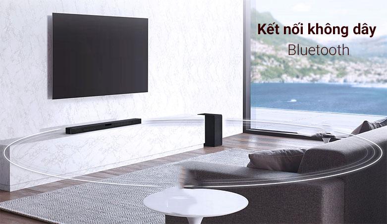 Loa Soundbar LG SL4   Kết nối không dây