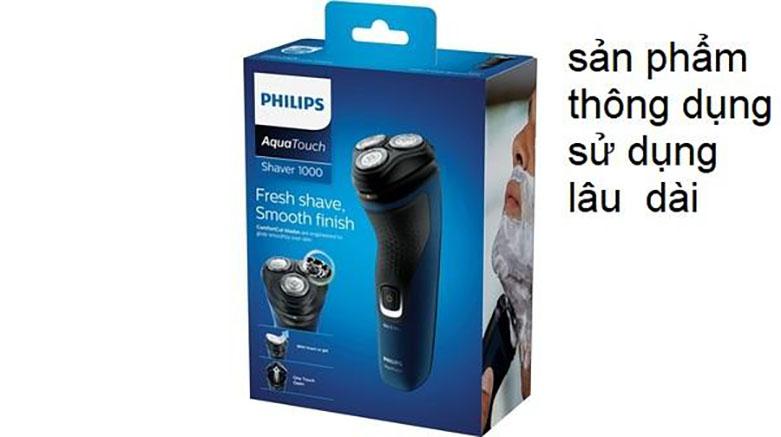 Máy cạo râu Philips S1121 | Sản phẩm thân thiện với người sử dụng