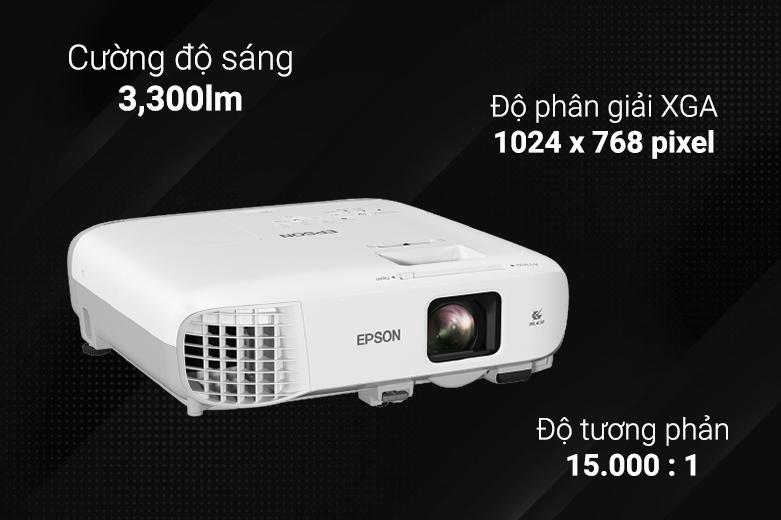 Máy chiếu Epson EB-X400 | Độ phân giải săc nét