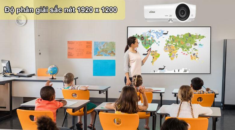 Máy chiếu Vivitek BW566 | Độ phân giải sắc nét