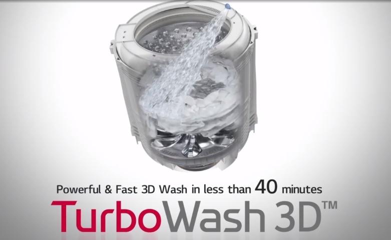 Máy giặt LG Inverter 11 kg TH2111SSAB | Công nghệ giặt TurboWash 3D