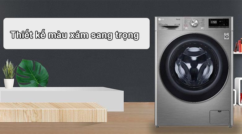 Máy giặt LG Inverter 9 kg FV1409S2V | Thiết kế sang trọng