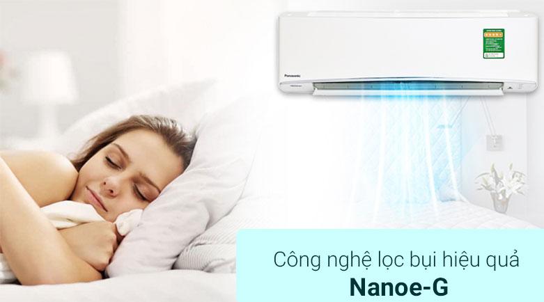 Máy lạnh Panasonic 1 HP CU/CS-XPU9XKH-8 | Công nghệ lọc bụi hiệu quả