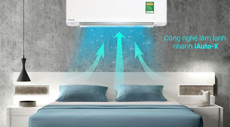 Máy lạnh Panasonic 1 HP CU/CS-XPU9XKH-8 | Công nghệ làm lạnh nhanh