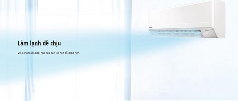 Máy lạnh PANASONIC CU/CS-WPU18WKH-8M Inverter   Làm lạnh dễ chịu
