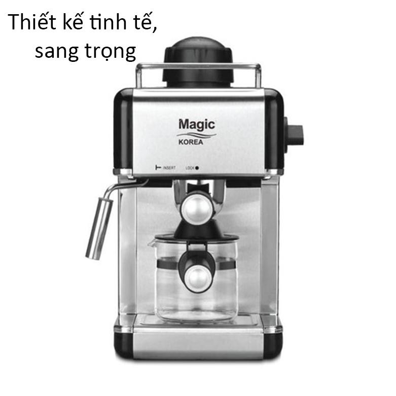 Máy pha cà phê Magic A-98   Thiết kế tinh tế, sang trọng