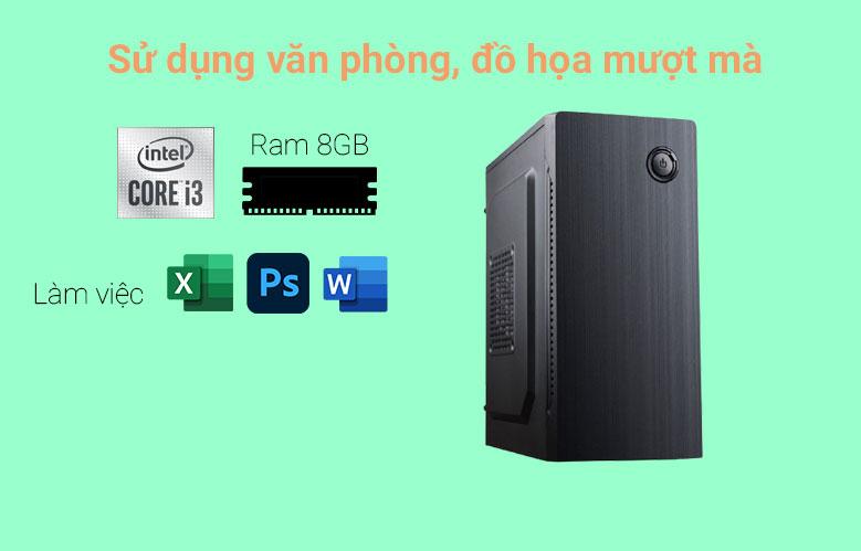 PC Phong Vũ PVP Office K9100-3 | Hiệu năng ổn định