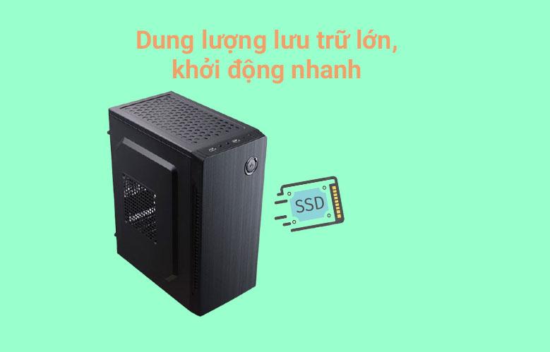 PC Phong Vũ PVP Office K9100-3 \ Dung lượng lưu trữ lớn, khởi động nhanh