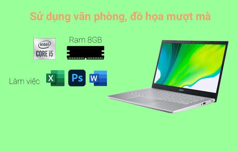 Laptop Acer Aspire 5 A514-54-51RB (NX.A2ASV.003) | Hiệu nặng tối ưu