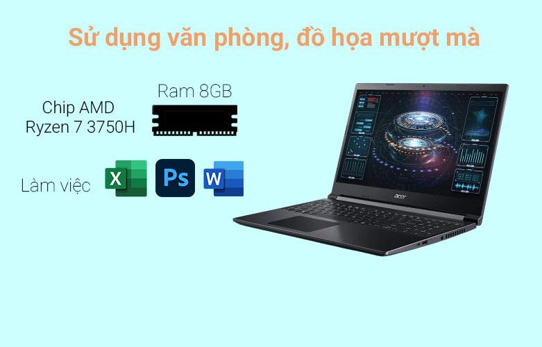 Laptop Acer Aspire 7 A715-41G-R150 (NH.Q8SSV.004) | Hiệu năng gaming mạnh mẽ