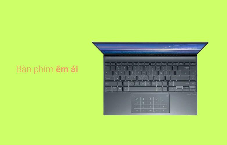 Laptop Asus Zenbook UX425EA-BM069T | bàn phím hiện đại
