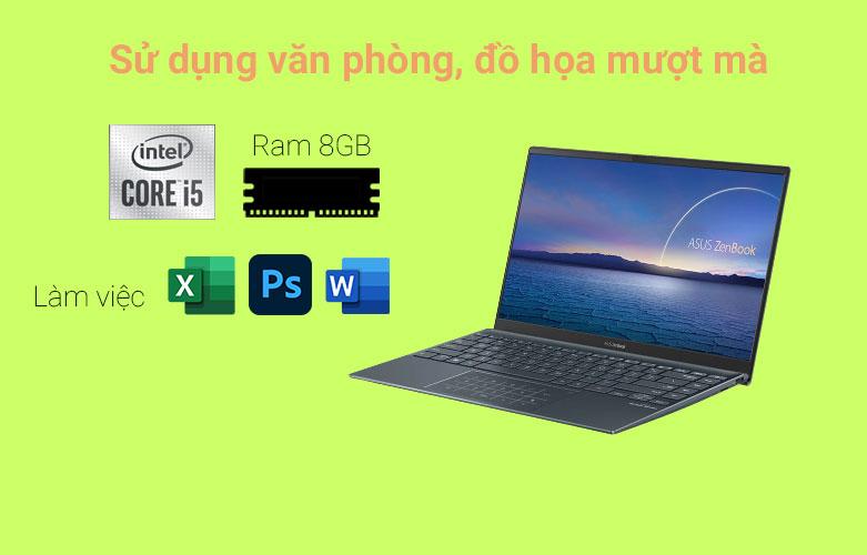 Laptop Asus Zenbook UX425EA-BM069T | Hiệu năng mạnh mẽ