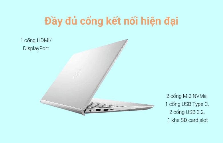 Laptop Dell Inspiron 15 7501 (7501-N5I5012W) | Cổng kết nối đầy đủ