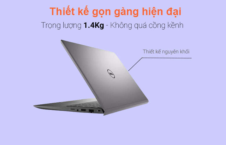 Laptop Dell Vostro 14 5402 (V5402A-P130G002V5402A) | Thiết kế gọn gàng hiện đại