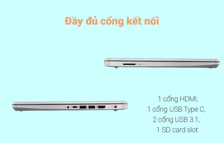 Laptop HP 340s G7 (2G5C3PA) | Đa dạng cổng kết nối