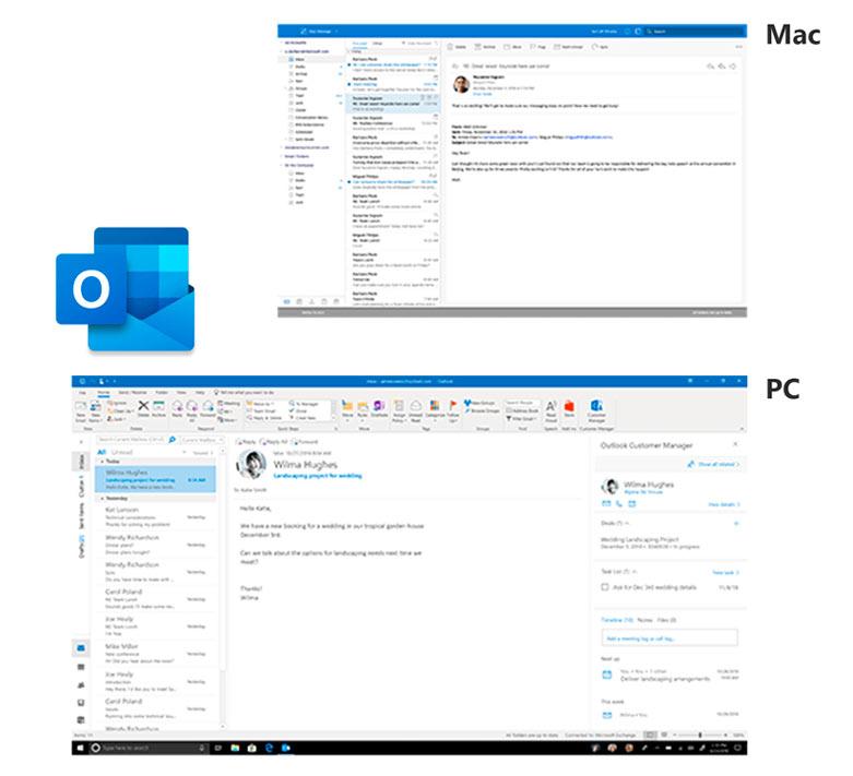 Phần mềm Office Home and Business 2019 All Lng APAC EM PKL Online DwnLd C2R NR (T5D-03181)   Microsoft Office Outlook 2019