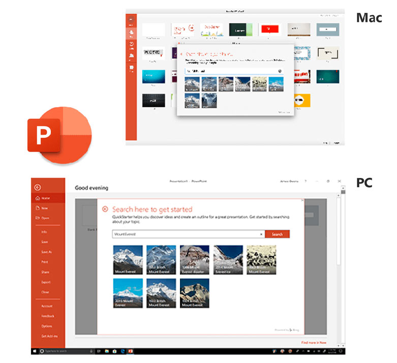 Phần mềm Office Home and Business 2019 All Lng APAC EM PKL Online DwnLd C2R NR (T5D-03181)   Microsoft Office PowerPoint 2019