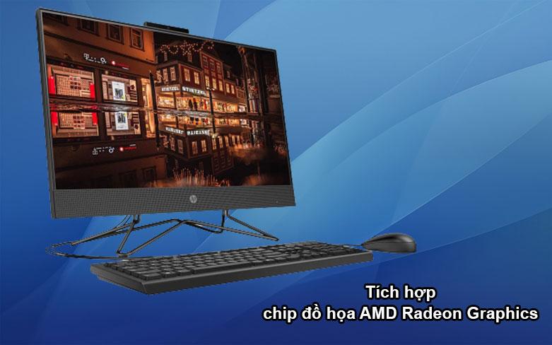 PC HP AIO 205 Pro G4 (31Y22PA) | Đồ họa mượt mà