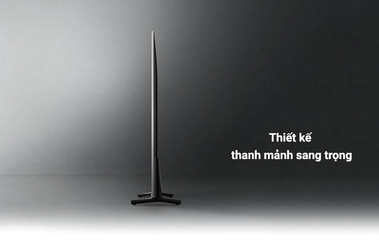 Smart Tivi Samsung 4K UHD 43 Inch UA43AU8000KXXV || Thiết kế thanh mảnh sang trọng