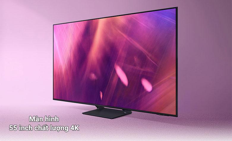 Smart Tivi Samsung 4K UHD 55 Inch UA55AU9000KXXV    màn hình 55 inch chất lượng 4K