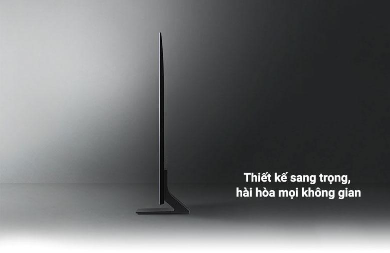 Smart Tivi Samsung 4K UHD 55 Inch UA55AU9000KXXV    Thiết kế sang trọng, hài hòa mọi không gian