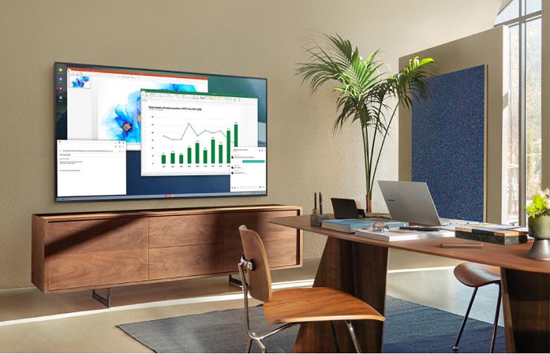 Smart Tivi Samsung 4K UHD 65 inch UA65HU9000KXXV    Mở rộng nhu cầu giải trí và làm việc ngay trên một chiếc smart tivi