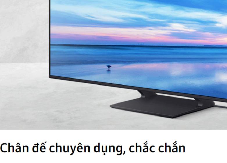 Smart Tivi Samsung 4K UHD 65 inch UA65HU9000KXXV    chân đế chắc chắn, chuyên dụng