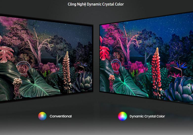 Smart Tivi Samsung 4K UHD 65 inch UA65HU9000KXXV    Công nghệ tái tạo hình ảnh Dynamic Crystal Color