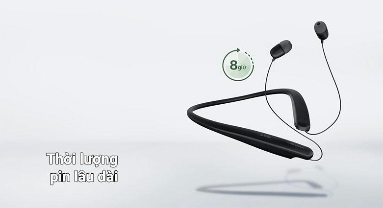 Tai nghe Bluetooth LG HBS-SL5.ABVNBK | Thời lượng pin lâu dài