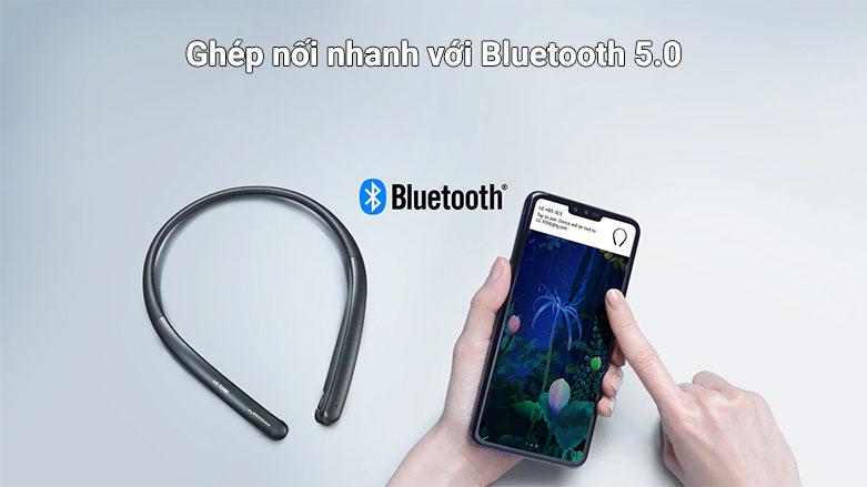 Tai nghe Bluetooth LG HBS-SL5.ABVNBK | Ghép nối nhanh