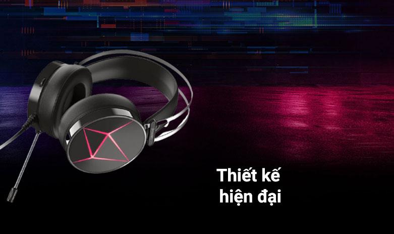 Tai nghe DareU EH722X (Đen) | Thiết kế hiện đại