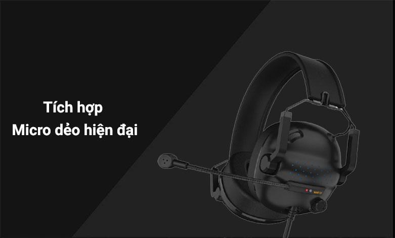 Tai nghe Gaming E-dra EH492 (Đen) | tích hợp Micro dẻo hiện đại